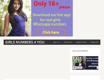 girlnumbers4you.com screenshot