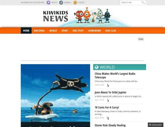 Thumbshot of Kiwikidsnews.co.nz