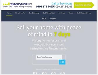 webuyanyhome.com screenshot