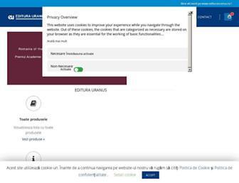 editurauranus.ro screenshot