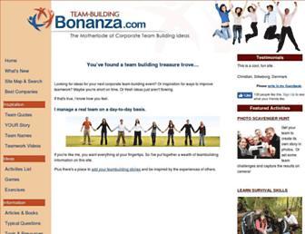 team-building-bonanza.com screenshot