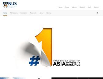 Thumbshot of Nus.edu.sg