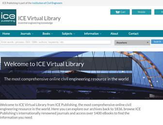 icevirtuallibrary.com screenshot