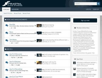 forum.fractalaudio.com screenshot