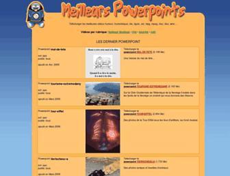 powerpoint.lesiteofficiel.net screenshot