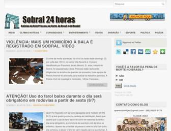Thumbshot of Sobral24horas.com