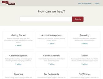 support.cellartracker.com screenshot