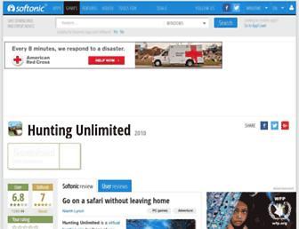 hunting-unlimited.en.softonic.com screenshot