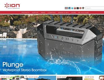 ionaudio.com screenshot
