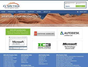 gmetrix.com screenshot