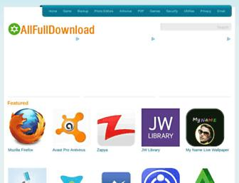 allfulldownload.com screenshot