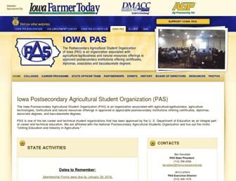 iowapas.org screenshot