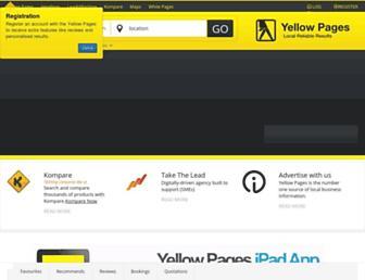 Thumbshot of Yellowpages.co.za