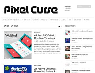 pixelcurse.com screenshot