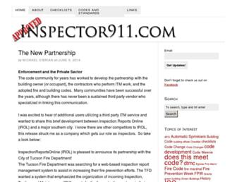 inspector911.com screenshot