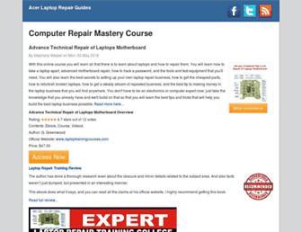 acerrepairblog.us screenshot
