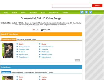 songshd.muskurahat.com screenshot