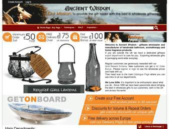 ancientwisdom.biz screenshot