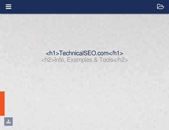 technicalseo.com screenshot