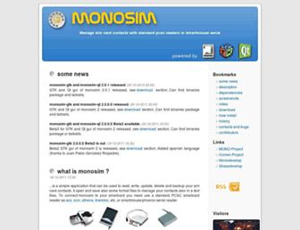 monosim.integrazioneweb.com screenshot