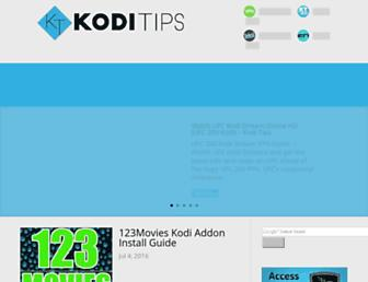 koditips.com screenshot
