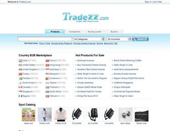 tradezz.com screenshot