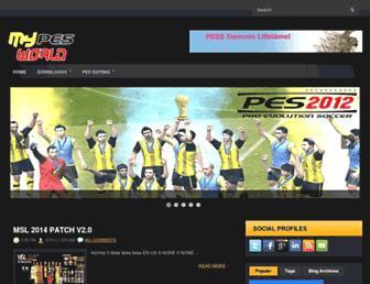 mypesworld.blogspot.com screenshot