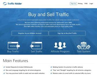 Thumbshot of Trafficholder.com