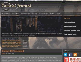 Thumbshot of Tamrieljournal.com