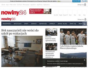 Thumbshot of Nowiny24.pl