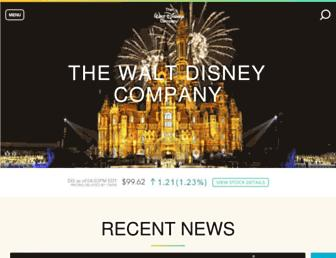 Thumbshot of Thewaltdisneycompany.com