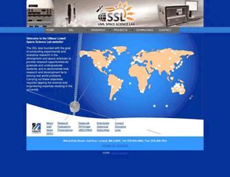 ulcar.uml.edu screenshot