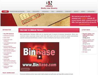 Thumbshot of Binbase.com