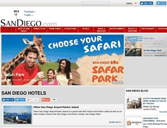 sandiego.com screenshot