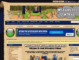wizard101central.com screenshot