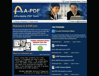 a-pdf.com screenshot