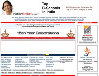 Thumbshot of Indianmba.com