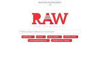 therawfeed.com screenshot
