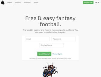 Thumbshot of Fleaflicker.com