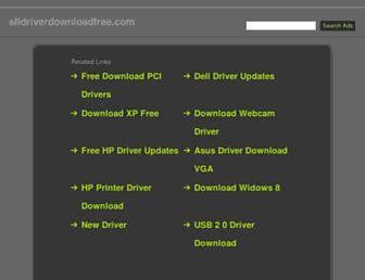 alldriverdownloadfree.com screenshot