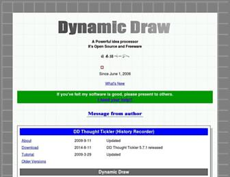 dynamicdraw.com screenshot