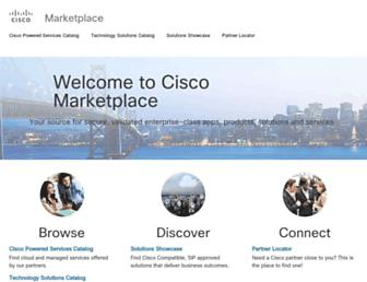 marketplace.cisco.com screenshot