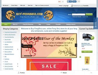 buy-fengshui.com screenshot