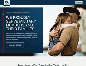 mobile.usaa.com screenshot