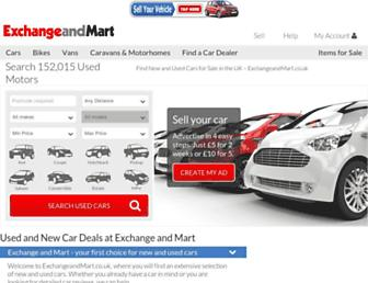 Thumbshot of Exchangeandmart.co.uk