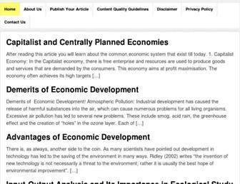 economicsdiscussion.net screenshot
