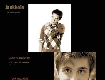 jaakkola.net screenshot