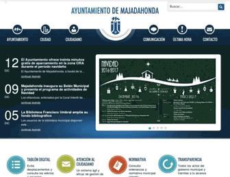 majadahonda.org screenshot