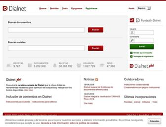 dialnet.unirioja.es screenshot