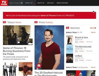 tvguide.com screenshot